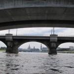 Dresden durch die Brücken (privat)