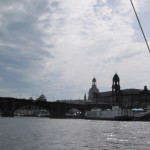 Dresden von der Elbe aus (privat)
